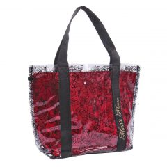 Bolso Asas Transparente Minnie