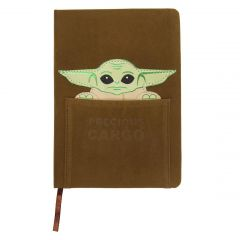 Cuaderno De Notas Piel The Mandalorian The Child
