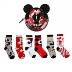 Pack Calcetines 6 Piezas Mickey