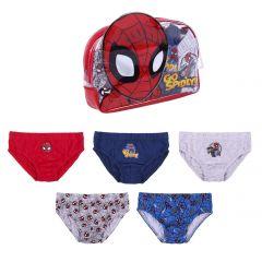 Pack Calzoncillos 5 Piezas Spiderman