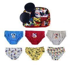 Pack Calzoncillos 6 Piezas Mickey