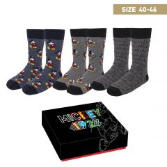 Pack Calcetines 3 Piezas Mickey