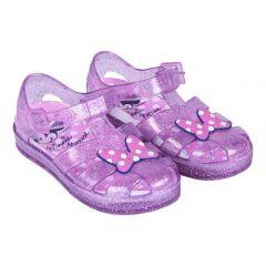 Sandalias Playa Glitter Minnie