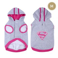 Sudadera Para Perro M  Supergirl Dc Comics