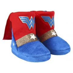 Zapatillas De Casa Bota Wonder Woman