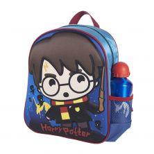 Mochila Infantil 3D Con Accesorios Harry Potter 31 Cm