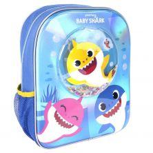 Mochila Infantil Confetti Baby Shark 31 Cm