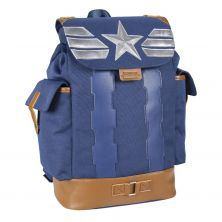 Mochila Casual Viaje Avengers Capitan America 42 Cm