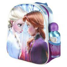 Mochila Infantil 3D Con Accesorios Frozen 2 10 Cm