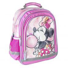 Mochila Escolar Premium Brillante Minnie 39 Cm