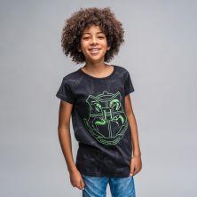 Camiseta Corta Glow In The Dark Harry Potter