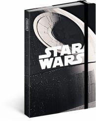 Libreta Star Wars – Estrella de la muerte, lined, 11 × 16 cm