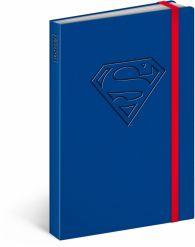 Libreta Superman – Logo, lined, 11 × 16 cm