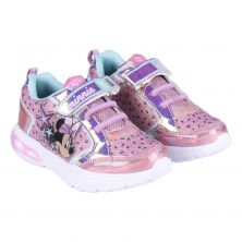 Deportiva Luces Glitter Minnie