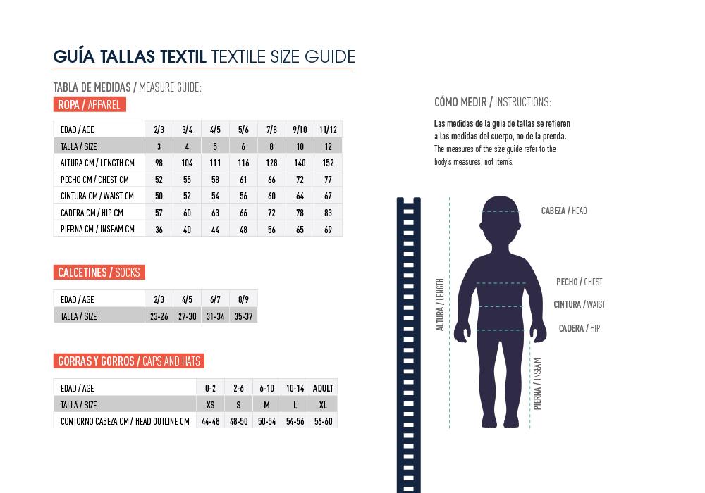 Supermoments - Guía de tallas