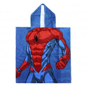 poncho_algodon_spiderman