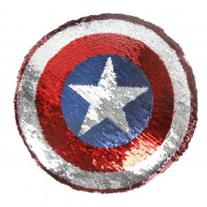 Cojín Lentejuelas Capitán America
