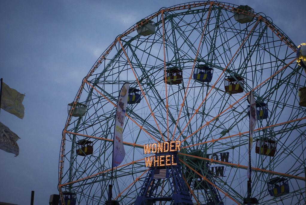Wonder Wheel Luna Park Coney Island