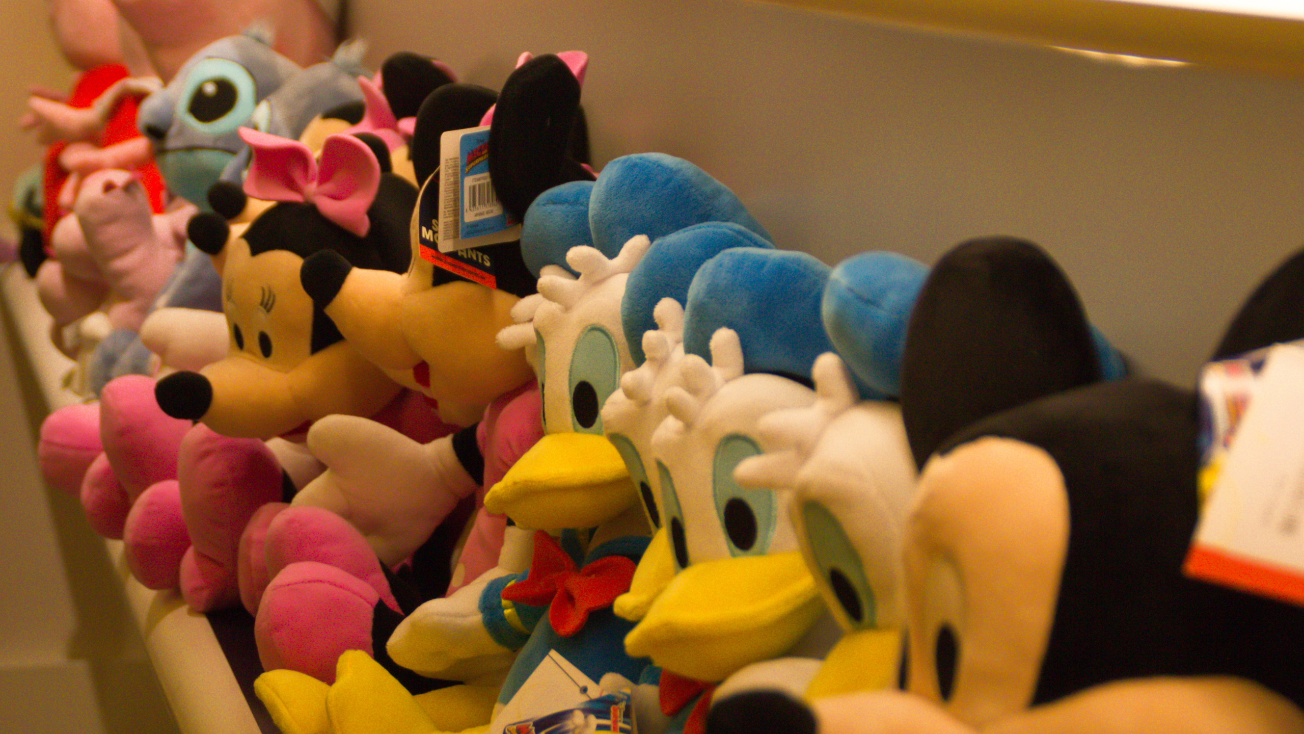 Peluches Disney. Se convertirán en sus más fieles amigos